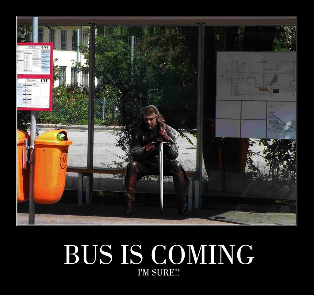 Buss is Coming